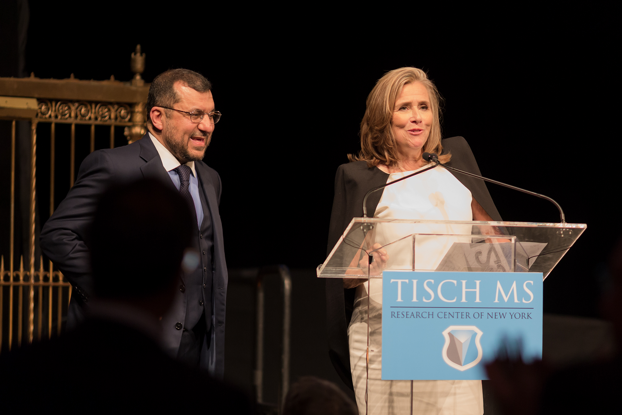Meredith Vieira Welcomes Guests to the 2018 Future Without MS Gala