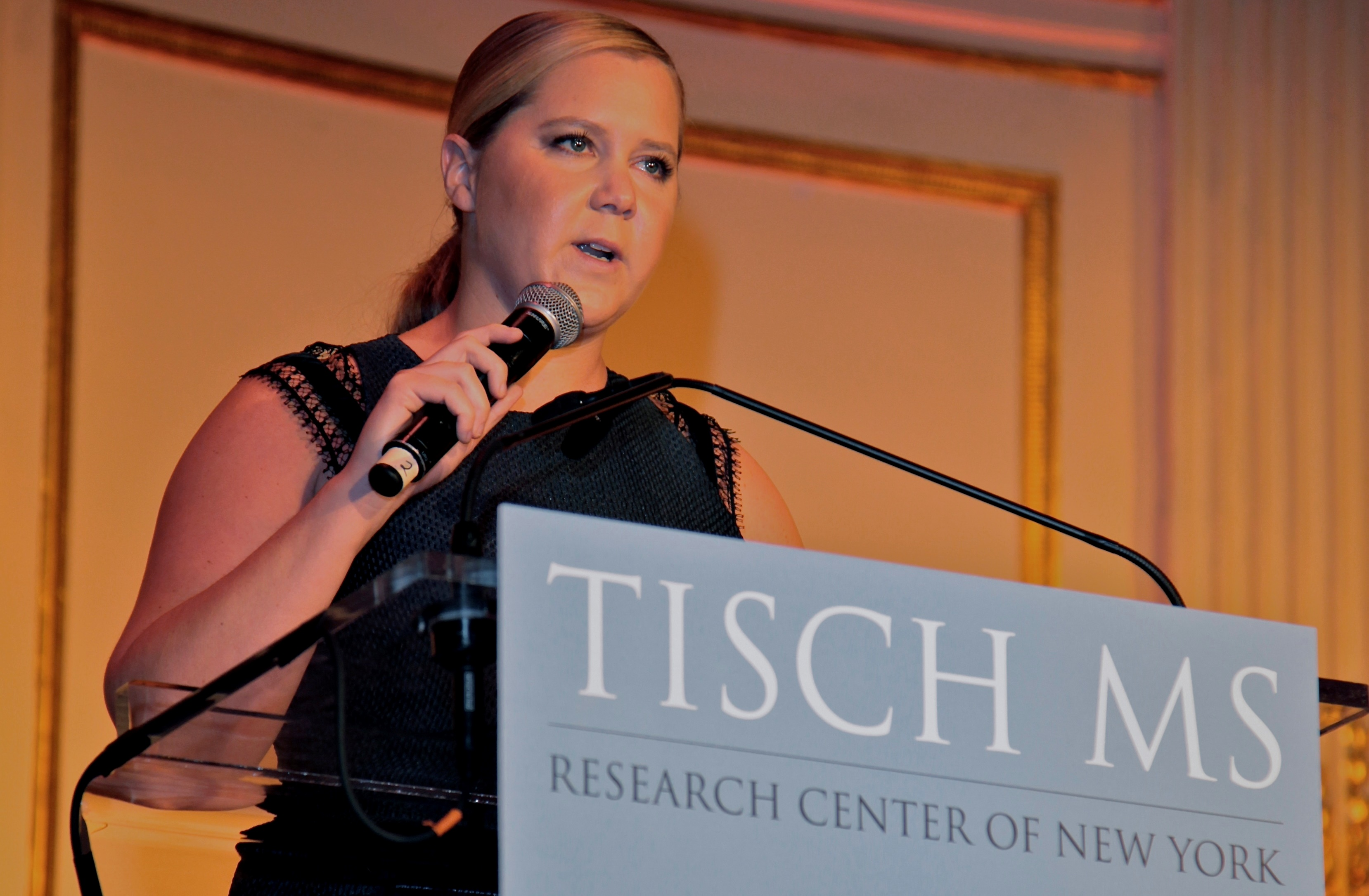 AMY SCHUMER AND PAUL SHAFFER JOIN FORCES TO RAISE $2.5 MILLION FOR MS RESEARCH